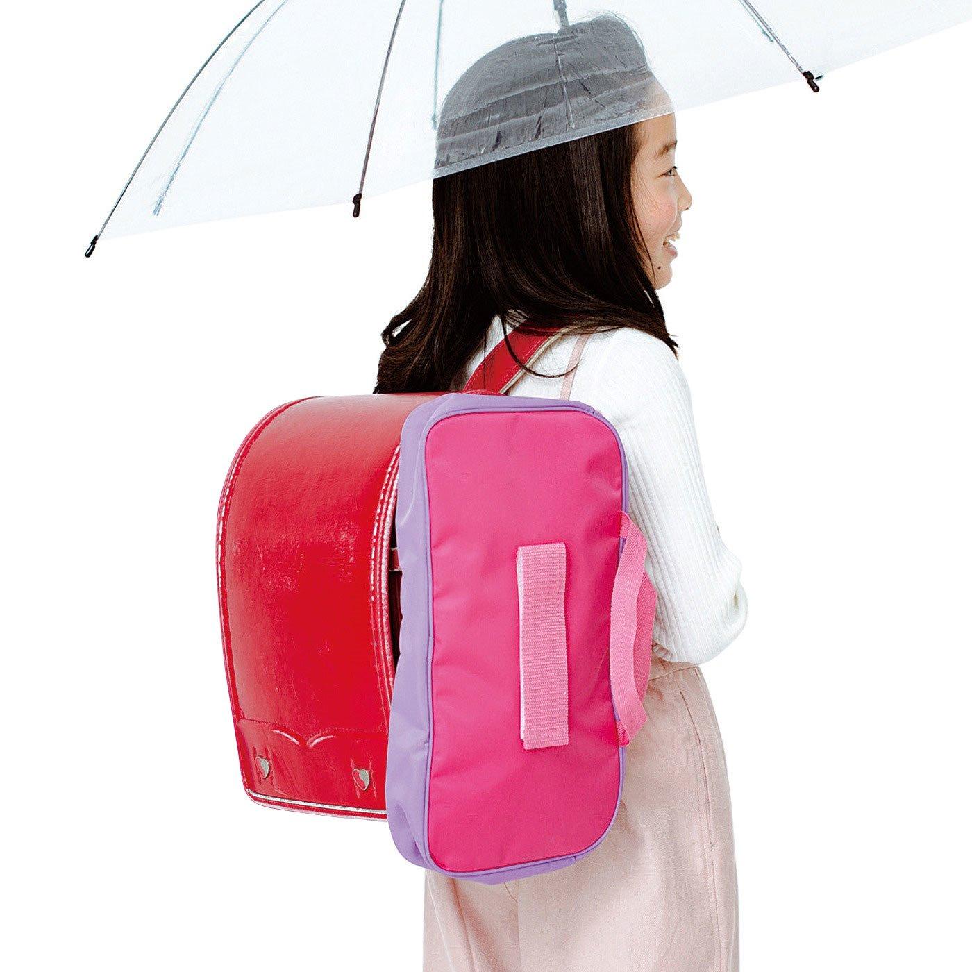 丈夫なナイロン素材の移動式スクールバッグ〈ガールズ〉