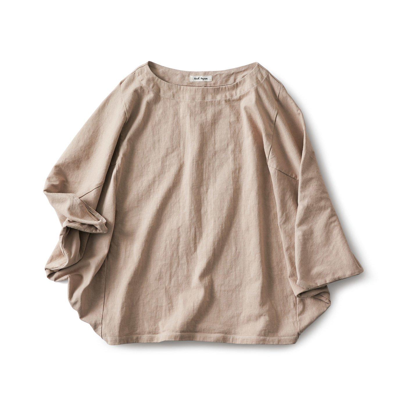 and myera マント袖Tシャツ