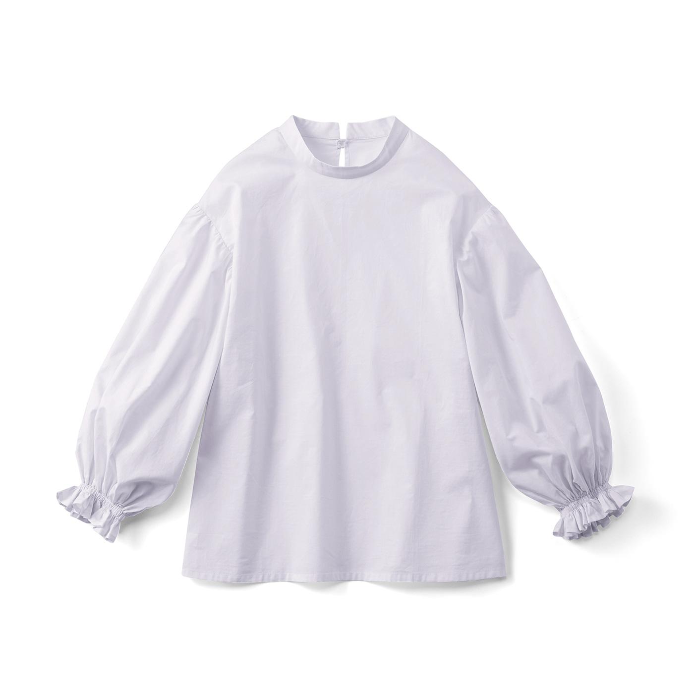 フェリシモ びっくりボリュームのふんわり袖トップス