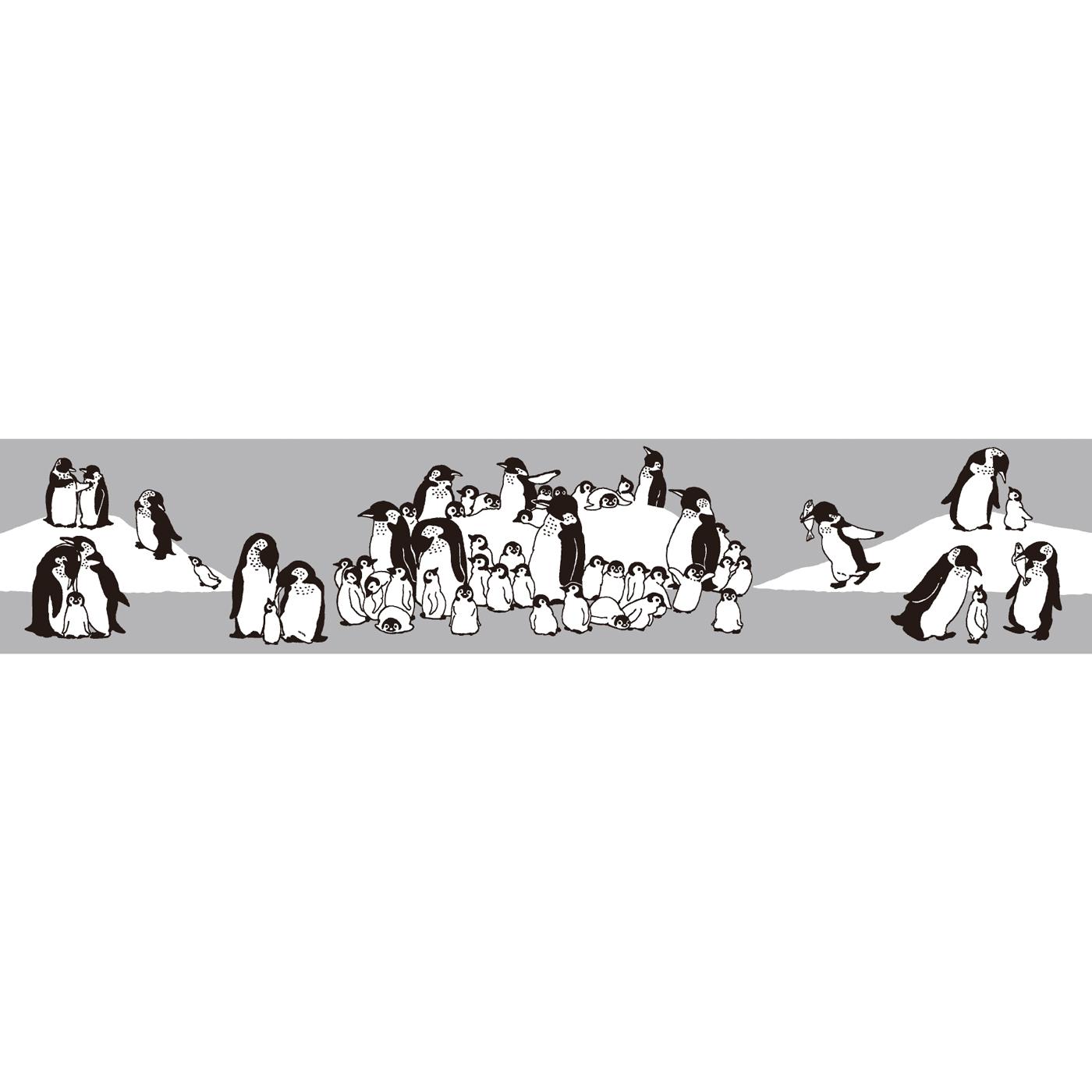 ペンギン界のあるあるがぐるっと一周。