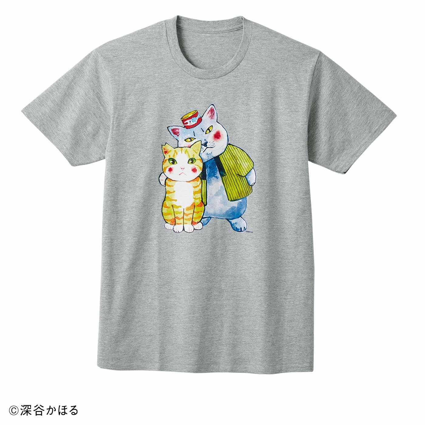 猫部×深谷かほる 地域猫チャリティーTシャツ2020