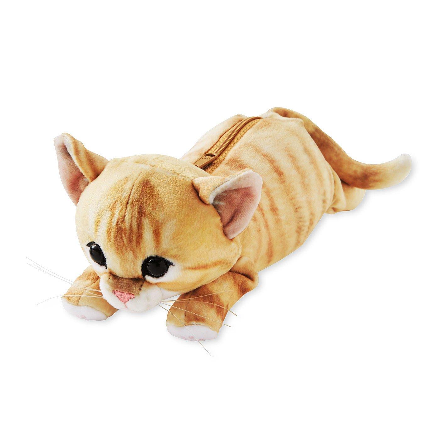 YOU+MORE! 夢のもちふわ触感 もっちり子猫ポーチ