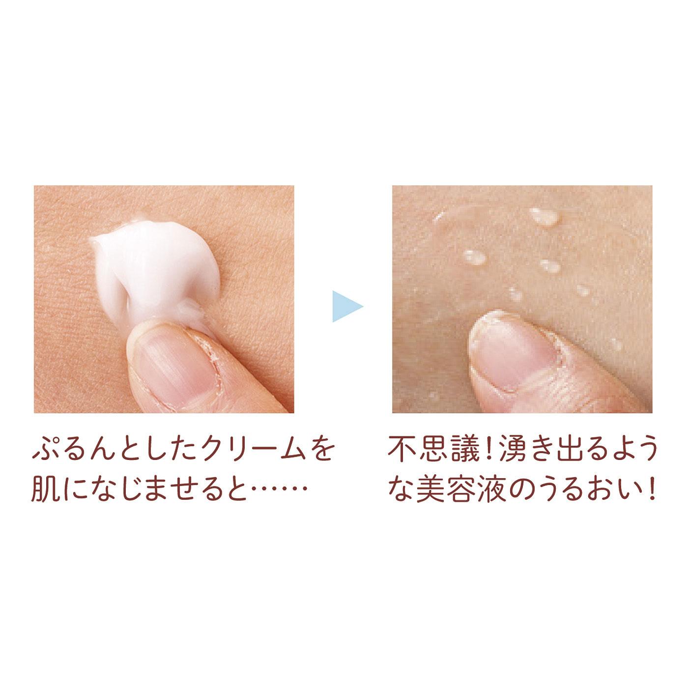 ※画像ではピンク色の肉球の香りハンドクリームを使用しておりますが効果は同じです。