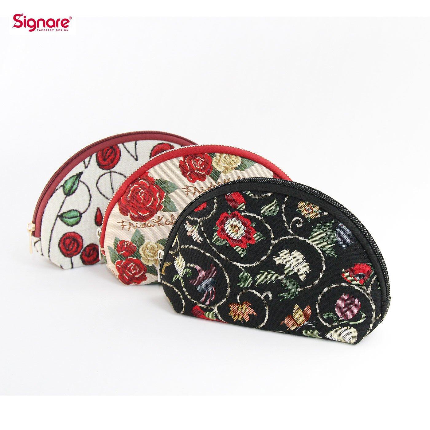 シグナーレ アートを持ち歩くゴブラン織りポーチ