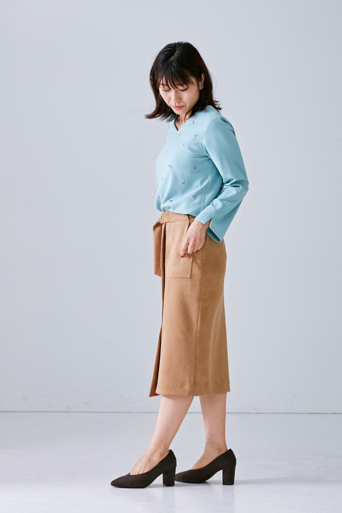 モデル身長:165cm 着用サイズ:M  ※着用イメージです。お届けするカラーとは異なります。