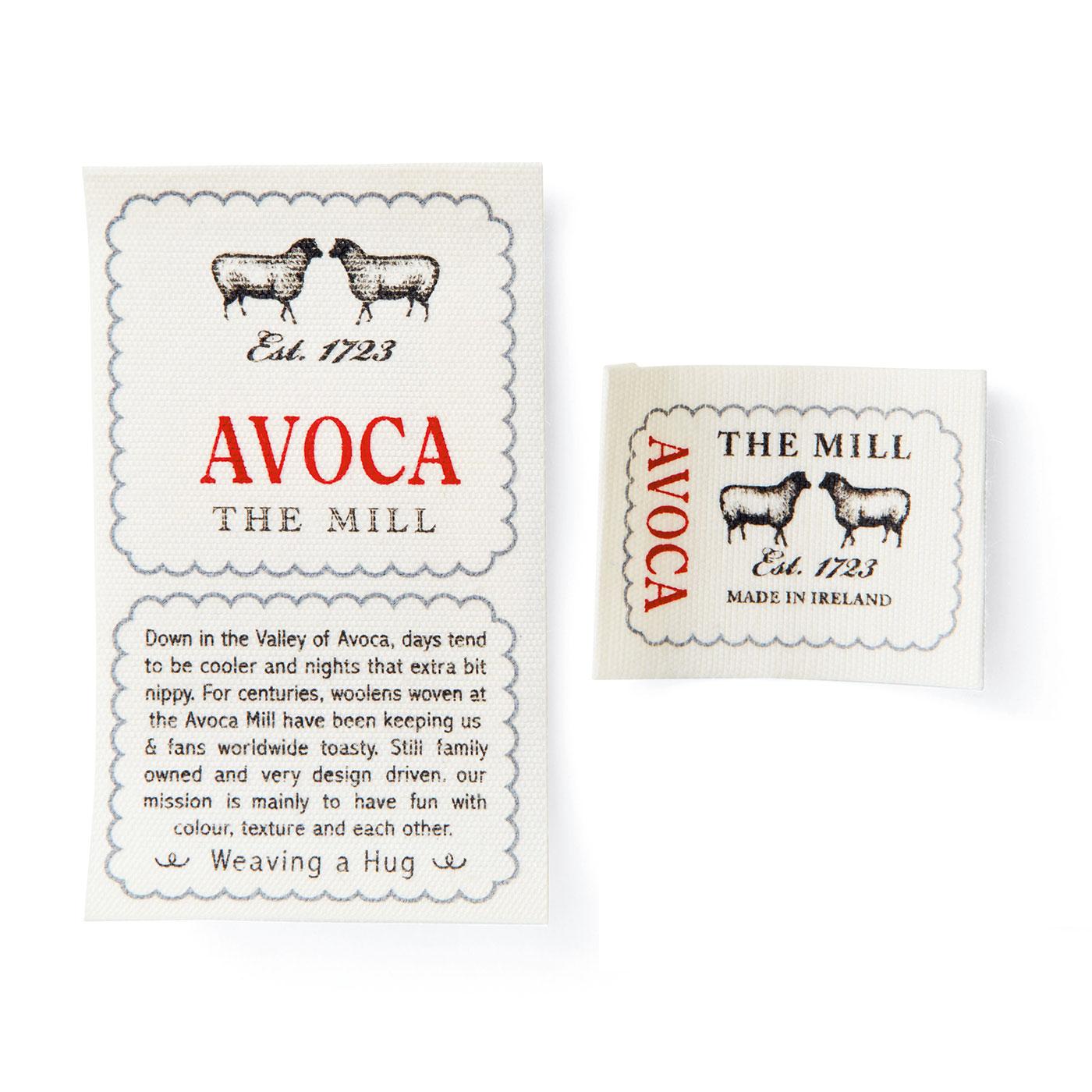 AVOCAのネームタグ、大小1枚ずつセット