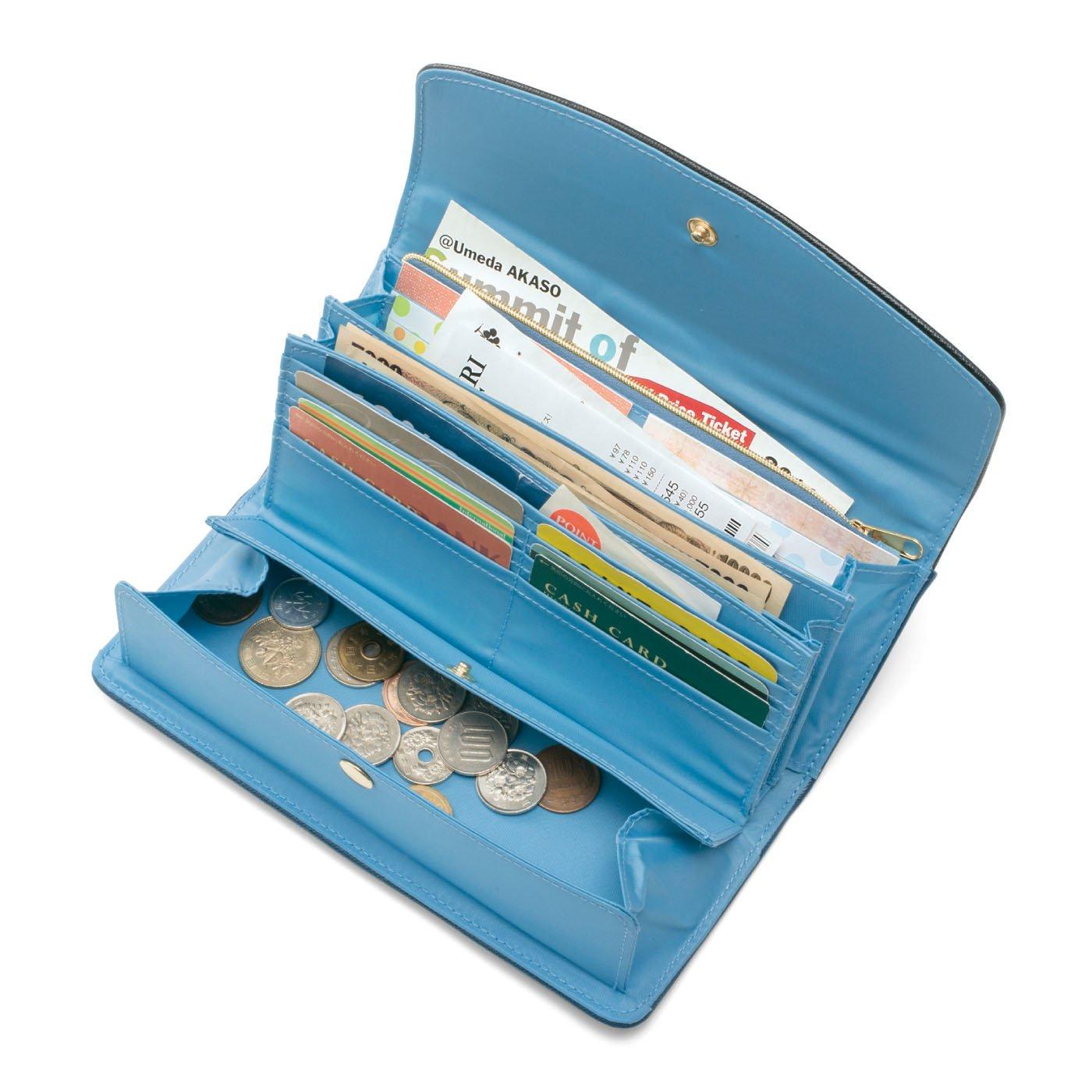 みんなの夢が詰まった 大人の賢い7つ星 収納上手な長財布