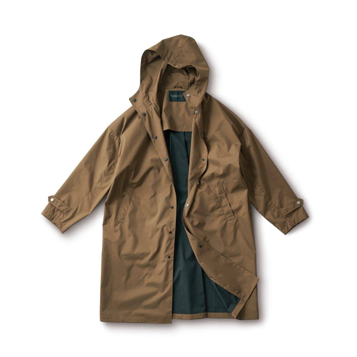 サニークラウズ 一枚仕立てのシュッとしたコート〈メンズ〉