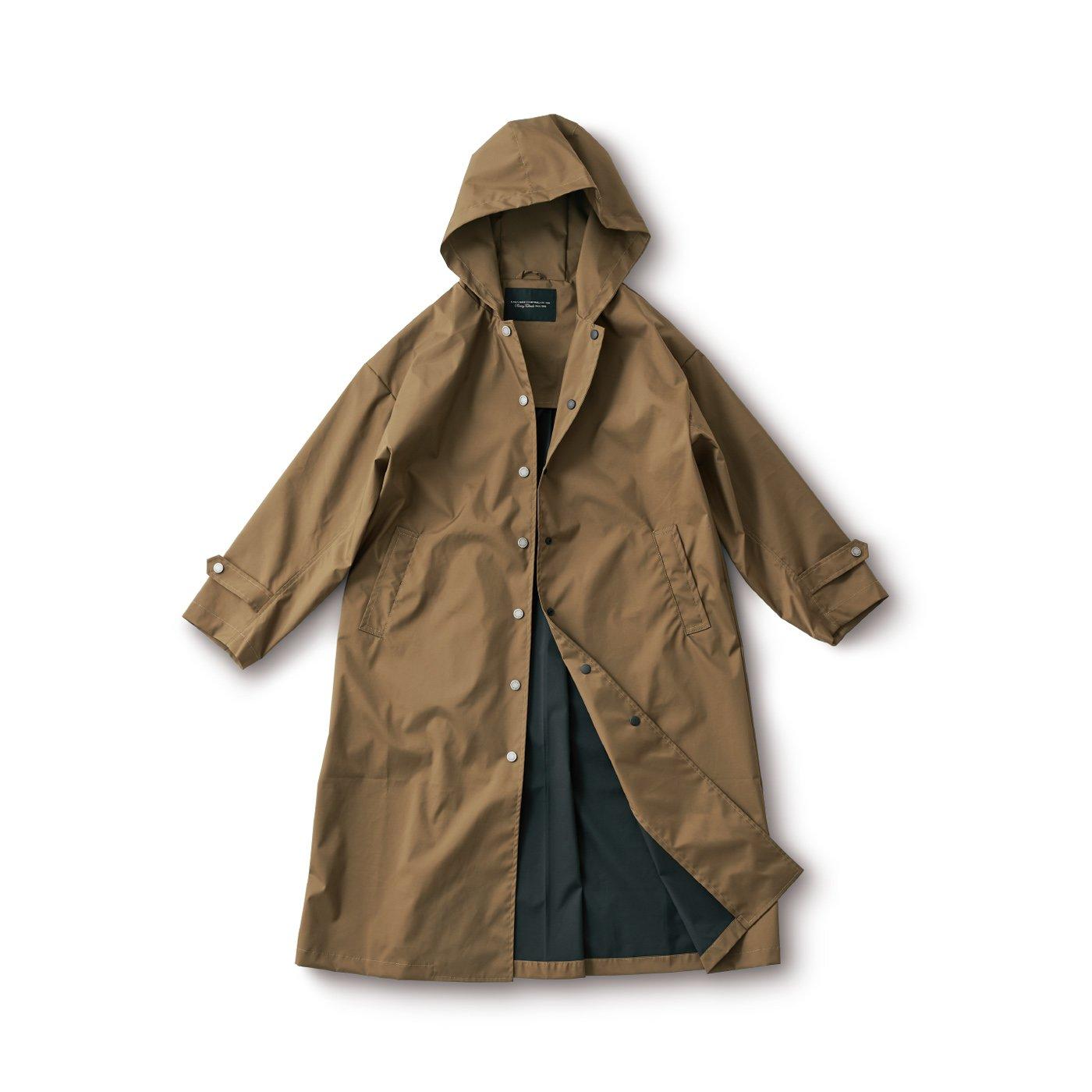 サニークラウズ 一枚仕立てのシュッとしたコート〈レディース〉