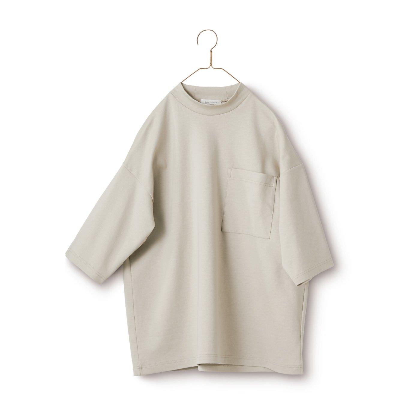 サニークラウズ ハイネックTシャツ〈メンズ〉