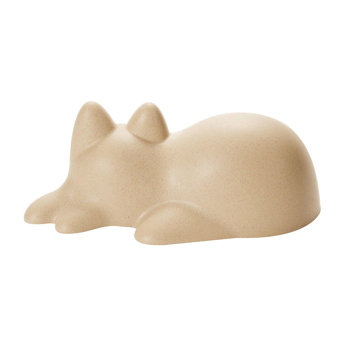 世界を癒す!?子猫サイズのカップ型猫「ネコカップ」ベージュ