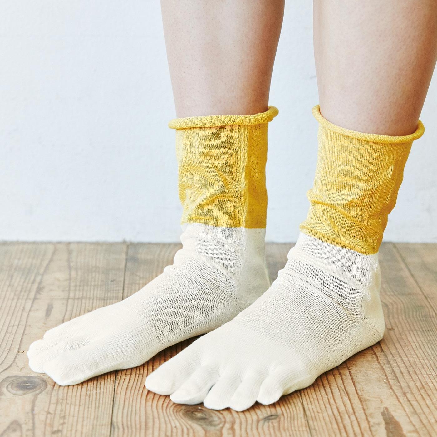 el:ment×naomi ito 毎日はきたい! 足先ふわりで心地よい シルク100%インナー靴下の会