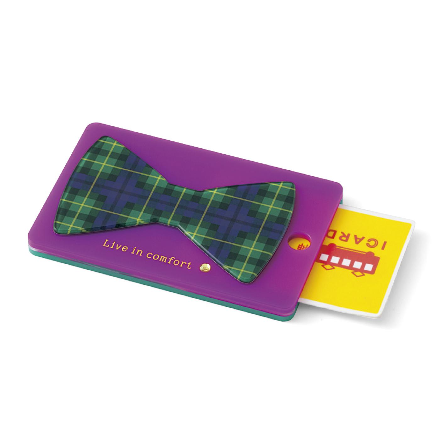ICカードを入れて、チェーンを付けて使ってね。バッグチャームにしてもかわいい。