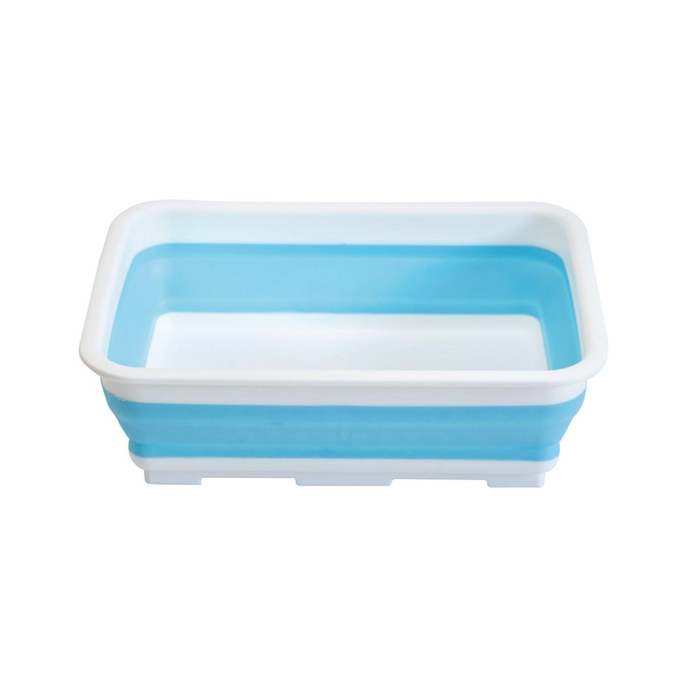手洗い・つけ置き・ペットのお風呂 たためる洗濯桶