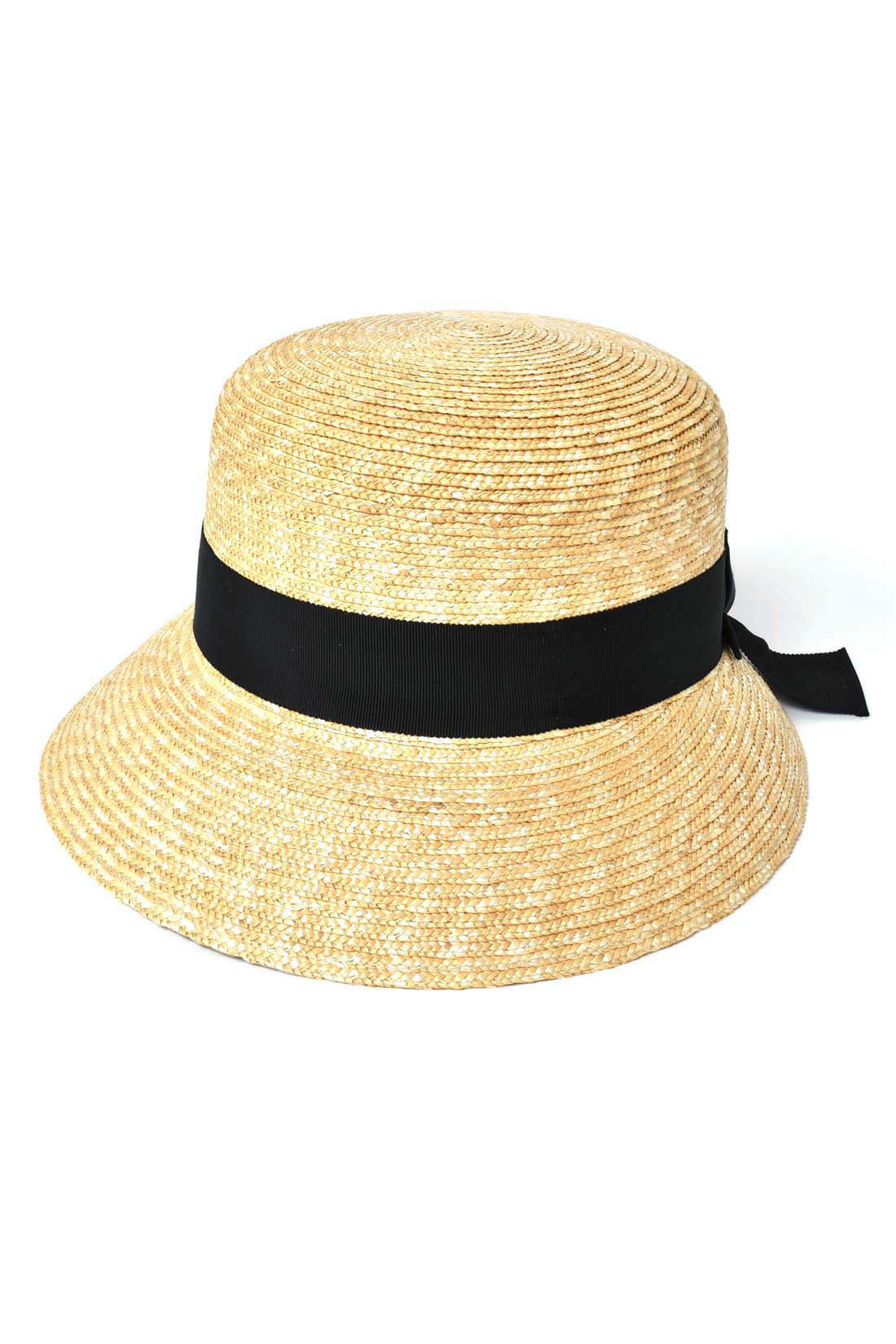 きれいな印象の麦わら帽〈Anne・アンヌ〉