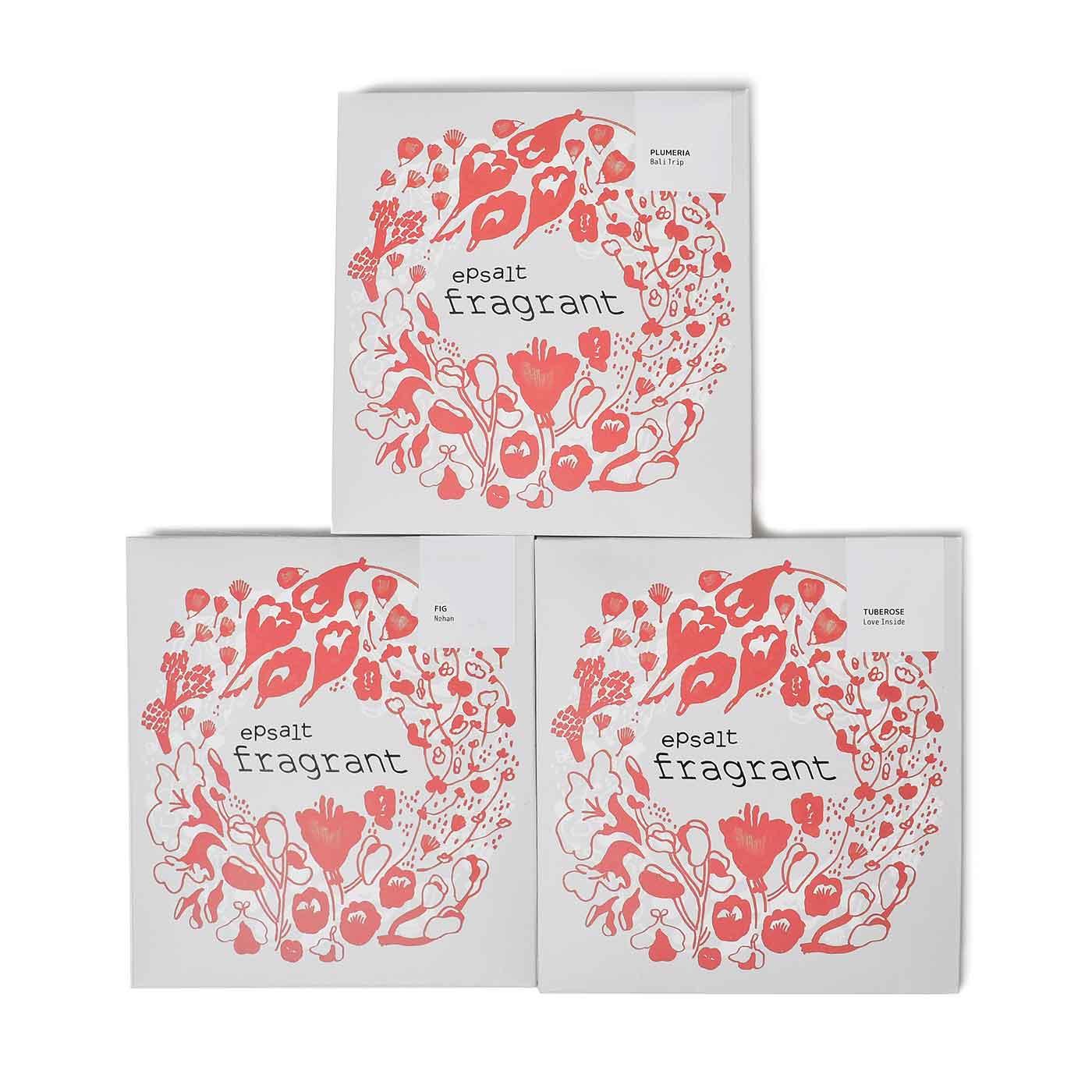 毎月3種類の香りの中から1種類ずつお届け。毎月、ぜいたくな香りに身を包んでください。