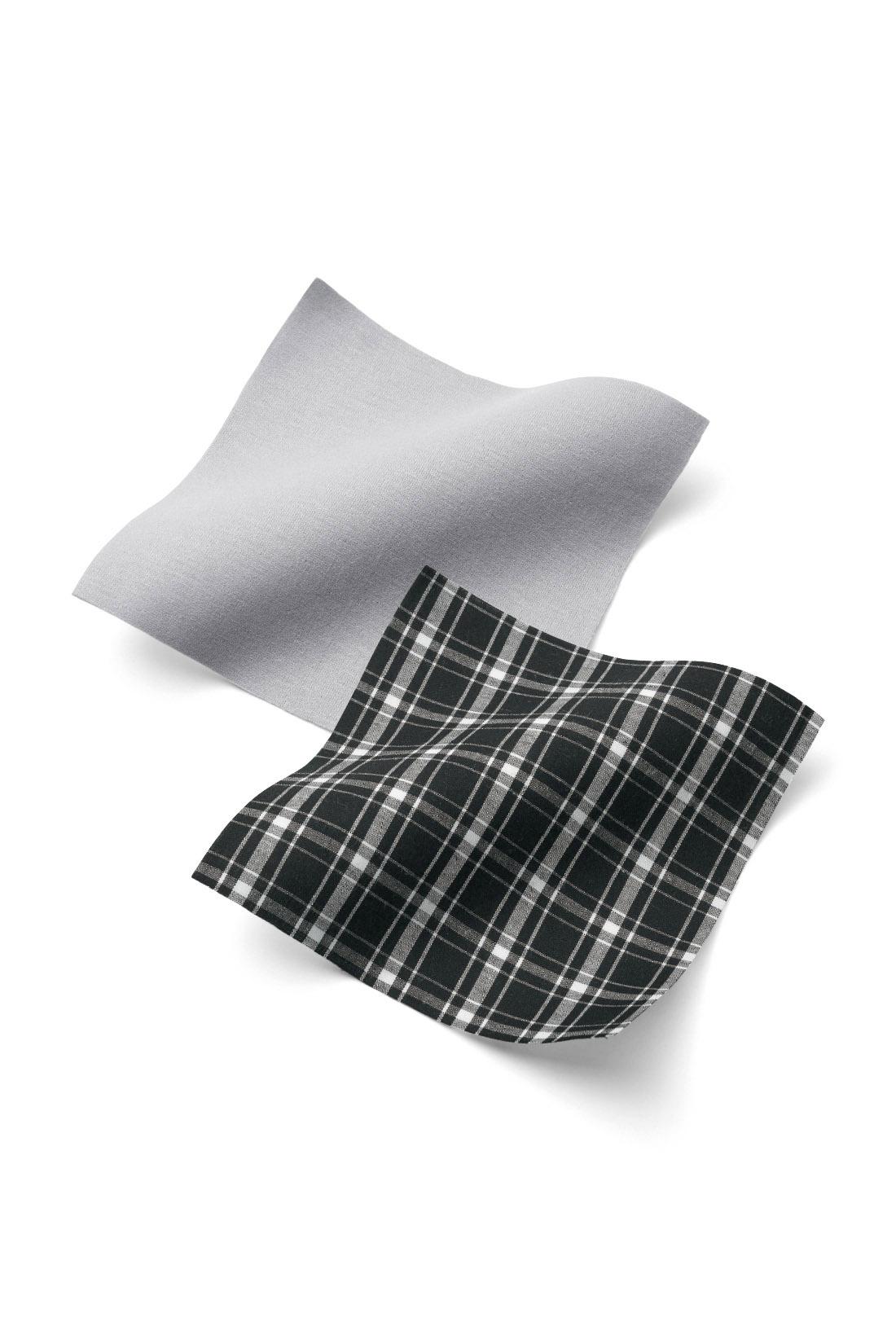 ノースリーブのトップスはきちんと布はく。軽やかなカーディガンはノンストレスなカットソー素材。 ※お届けするカラーとは異なります。