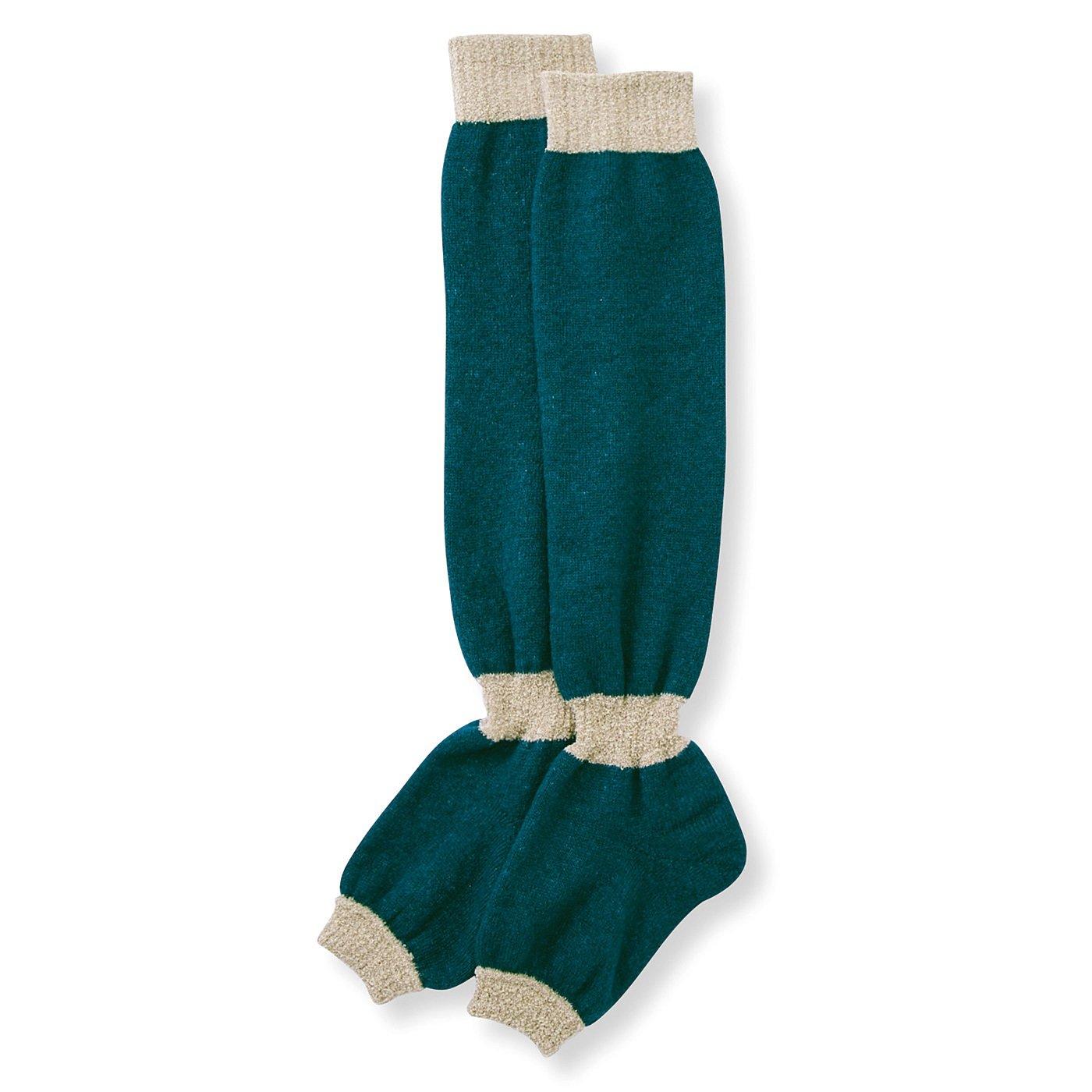 イエティサイズ! パジャマもすっぽりはけるあったかブランケット靴下