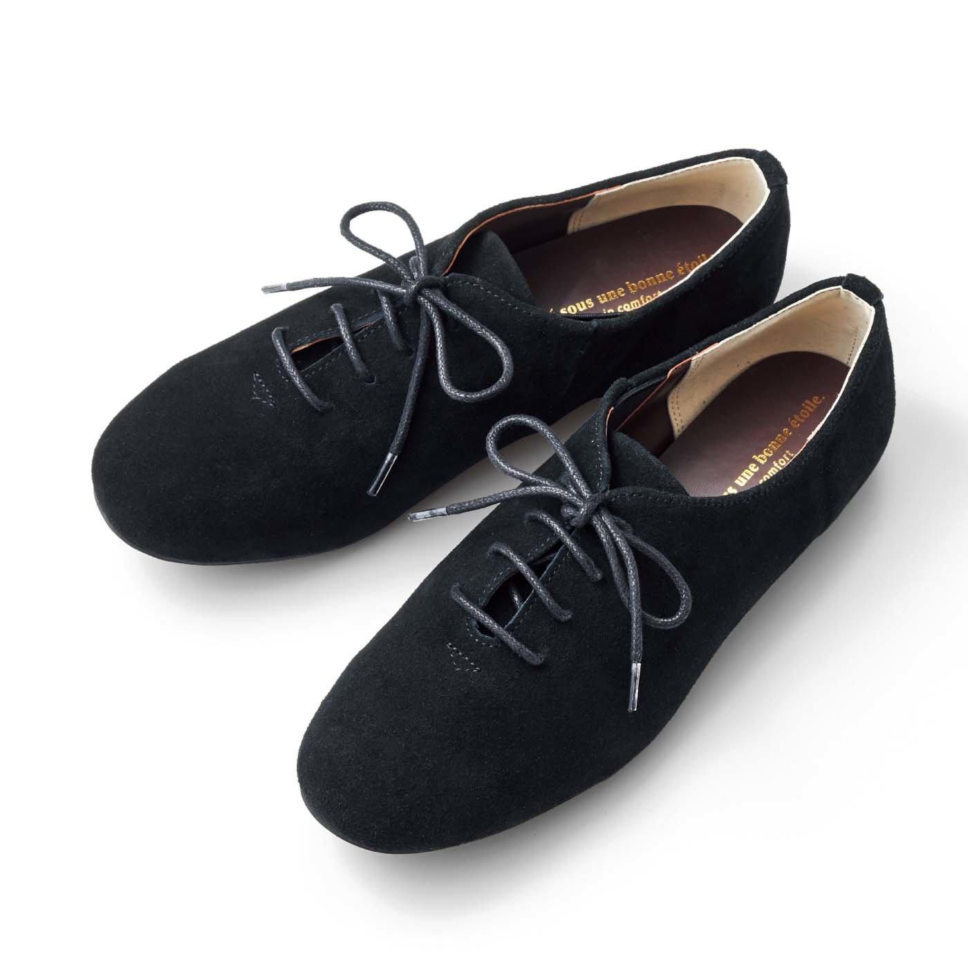 リブ イン コンフォート 履くほどに足になじむ 相棒みたいな本革ドレスシューズ〈ブラック〉