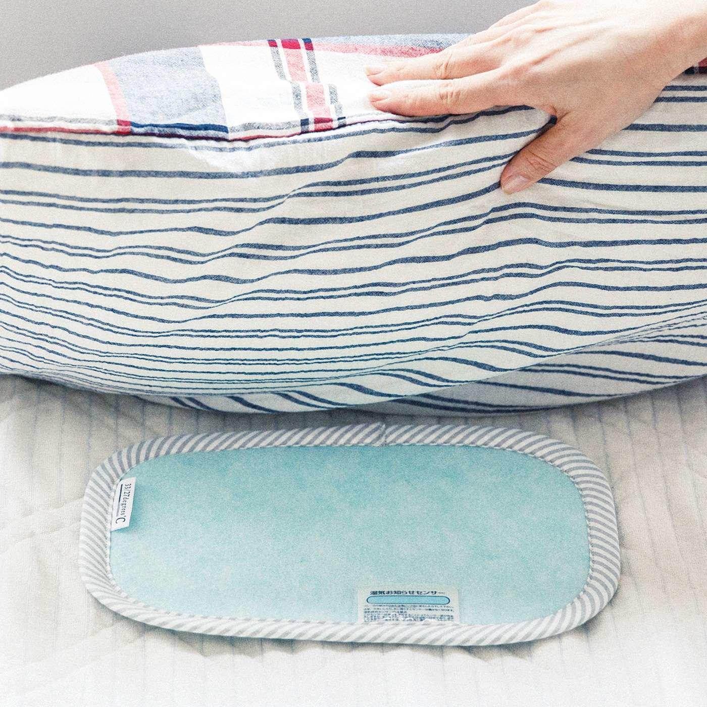 枕の湿気を吸収 繰り返し使える吸湿シート(枕用)の会