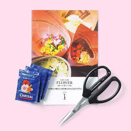 【タイプが選べる!】お花屋さんが教える お花を楽しめる人になるレッスン