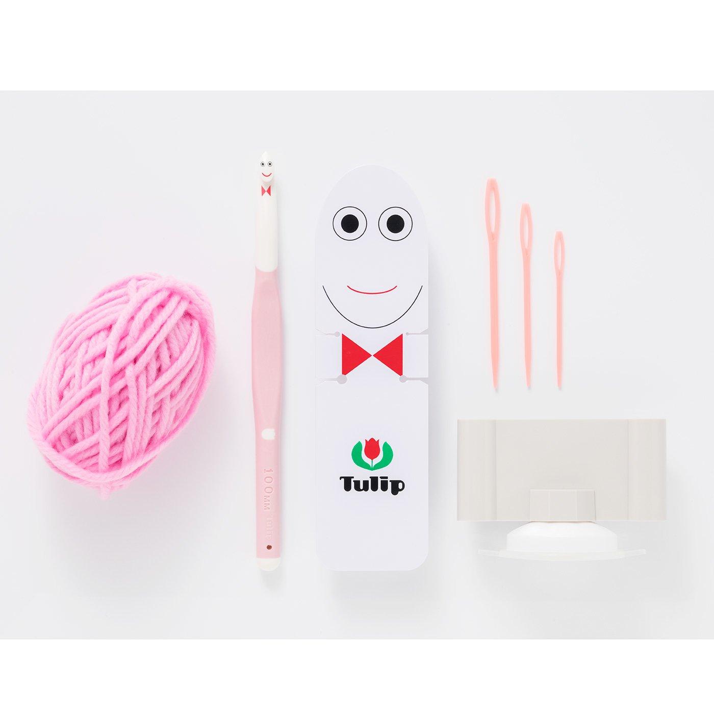 グランちゃんがかぎ針編みデビューを応援!Tulip ETIMO Kids グランちゃんセット(かぎ針10mm)