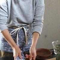 フェリシモ【定期便】新規購入キャンペーン アフィリエイトプログラムフェリシモ ぬれた手をサッとふける 蚊帳とガーゼのエプロンの会
