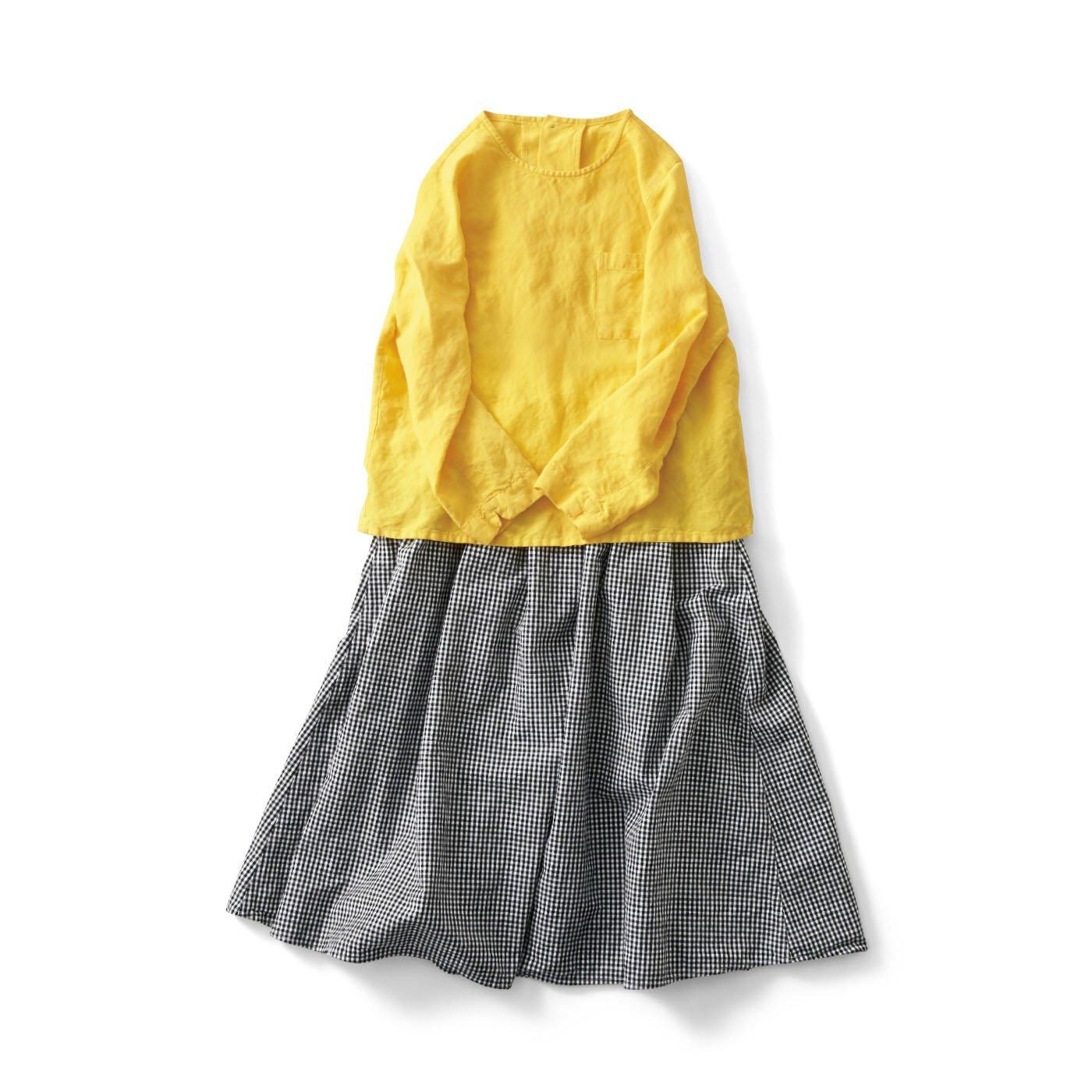 サニークラウズ たんぽぽ色のコーディネイトセット〈レディース〉