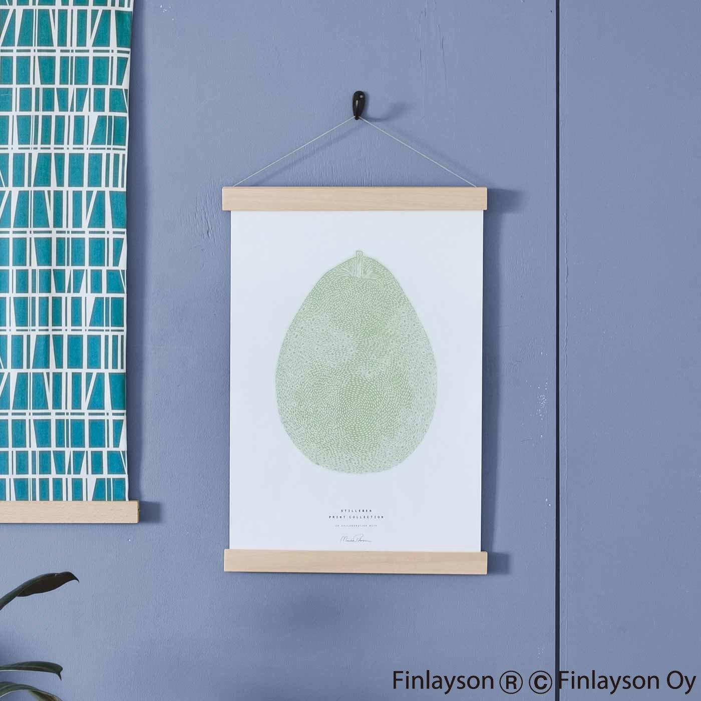 ポスターや絵を素敵に縁(ふち)取る 家具職人が作ったポスターハンガー〈M〉