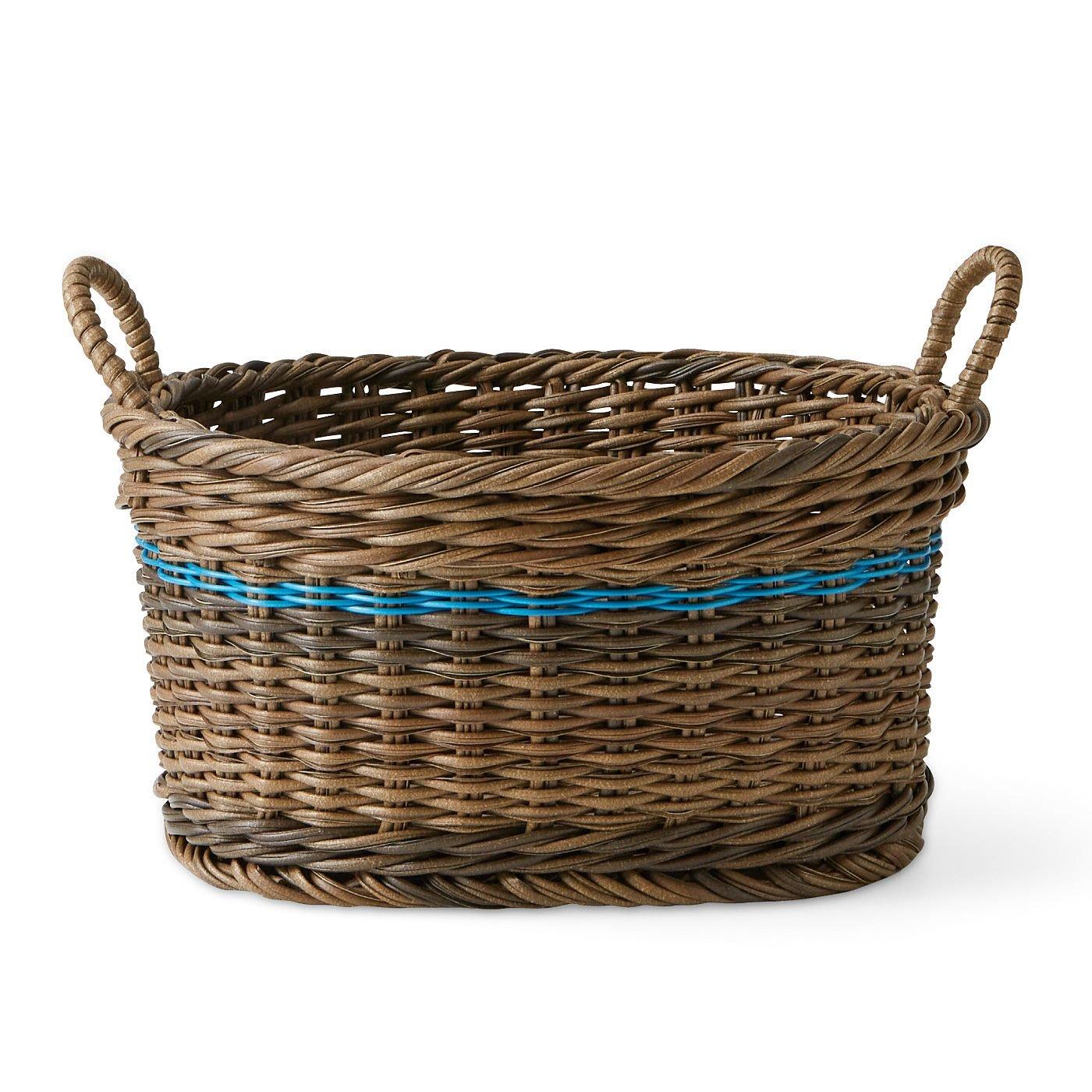 アンティークのような佇(たたず)まい いろんな形の手編みミニバスケットの会