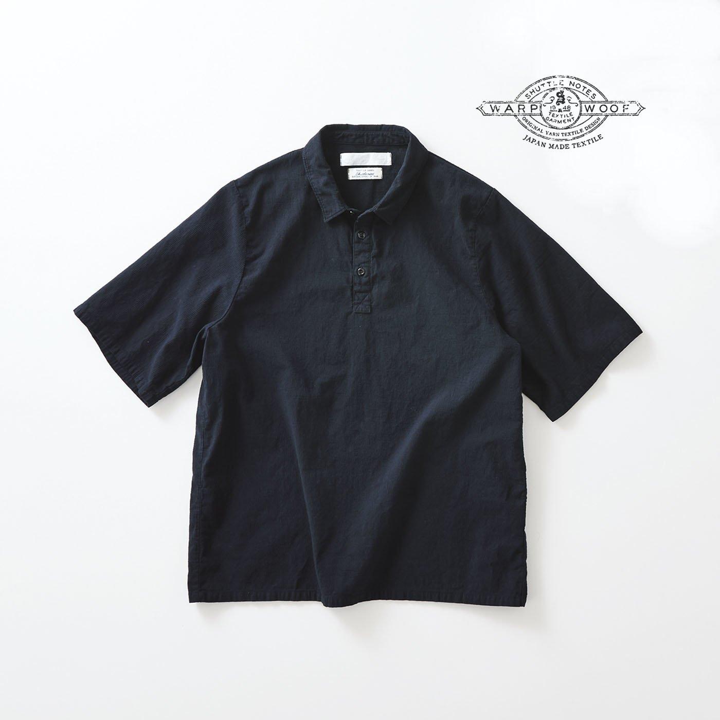 サニークラウズ feat. Shuttle Notes ポロシャツ風シャツ〈メンズ〉