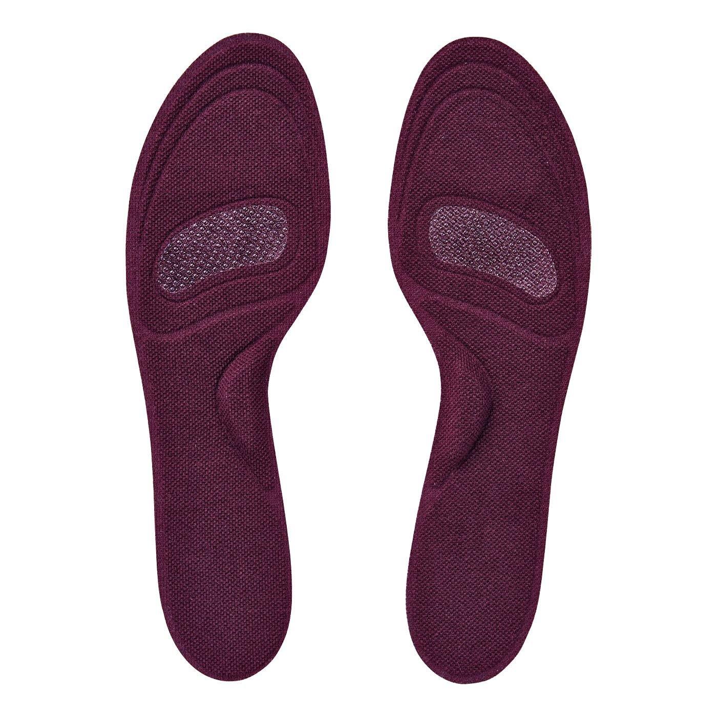 足裏さらり快適!上品カラーで靴を脱いでも安心なシール付き薄型インソールの会