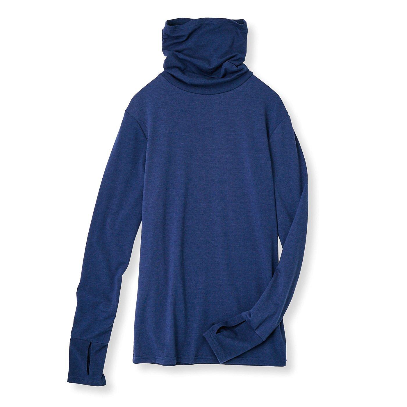 フラウグラット フェイス&アームカバーが一体化 重ね着にも便利なのびのびトップス〈UV対策/吸水速乾〉の会