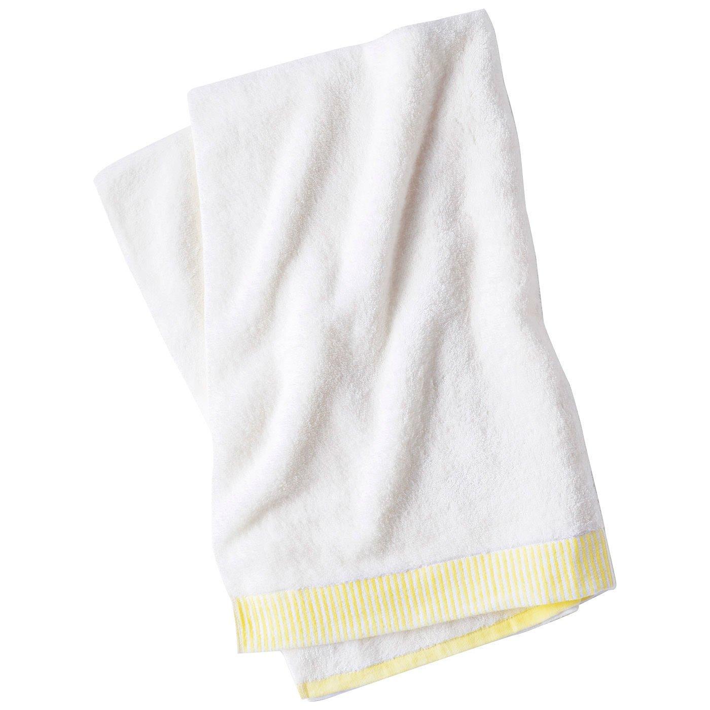 スキンケア発想 ふんわりパイルのうる肌バスタオル