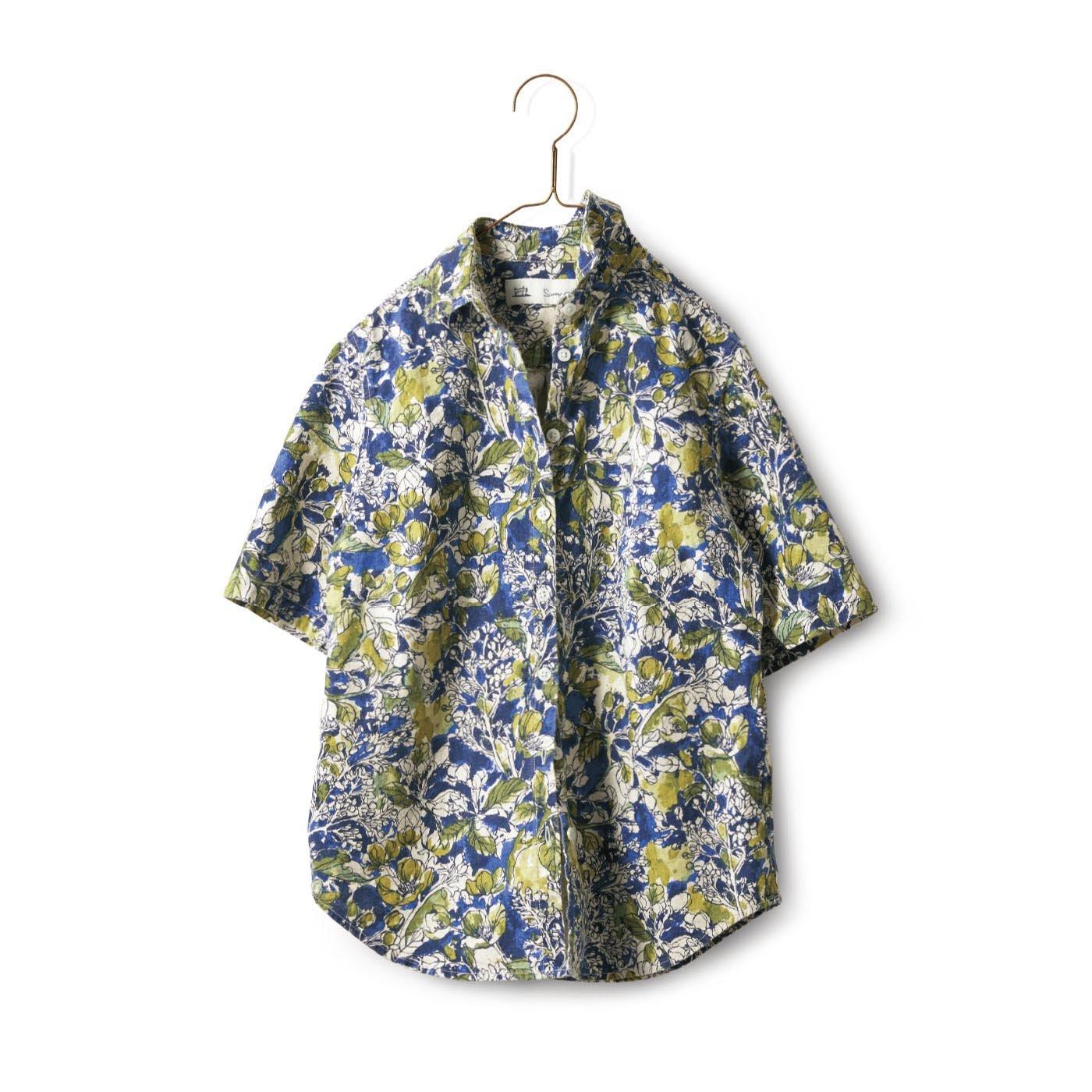 サニークラウズ 陽気に着こなすシャツ〈レディース〉