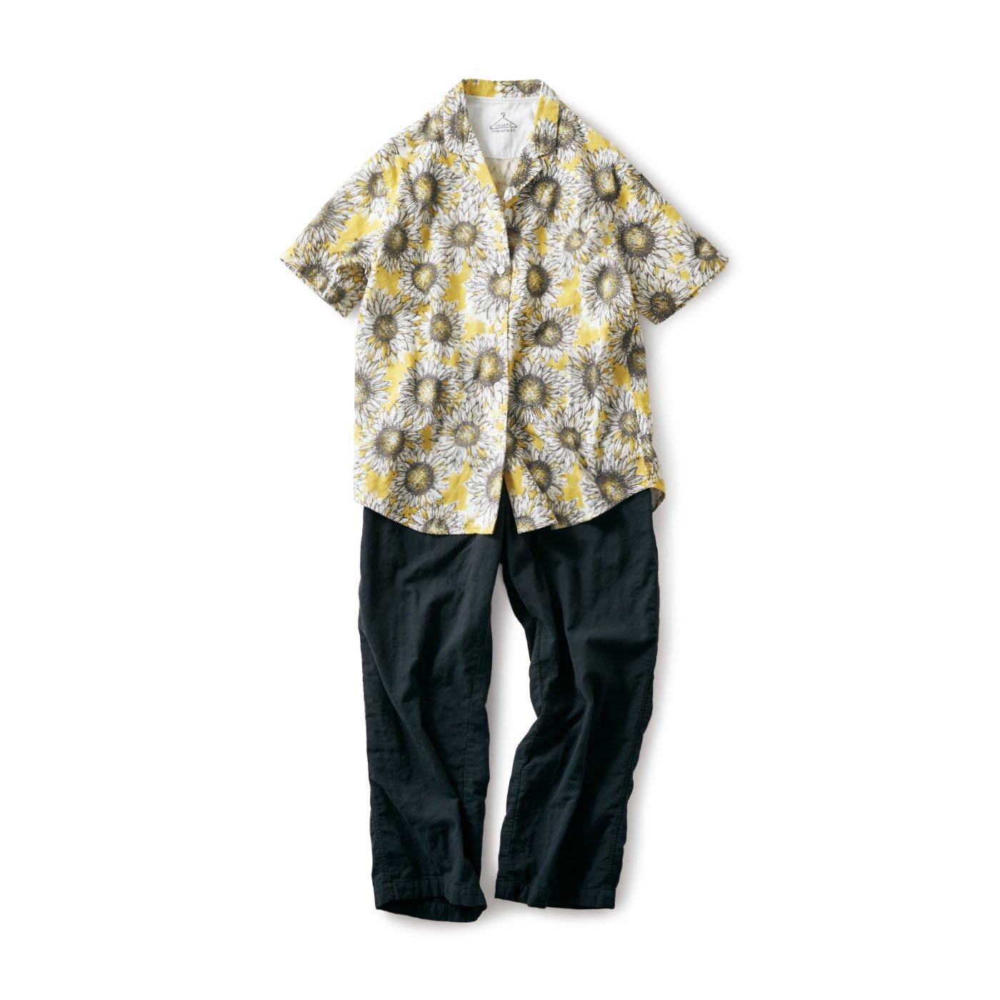 サニークラウズ にっこりひまわりパジャマ〈レディース〉