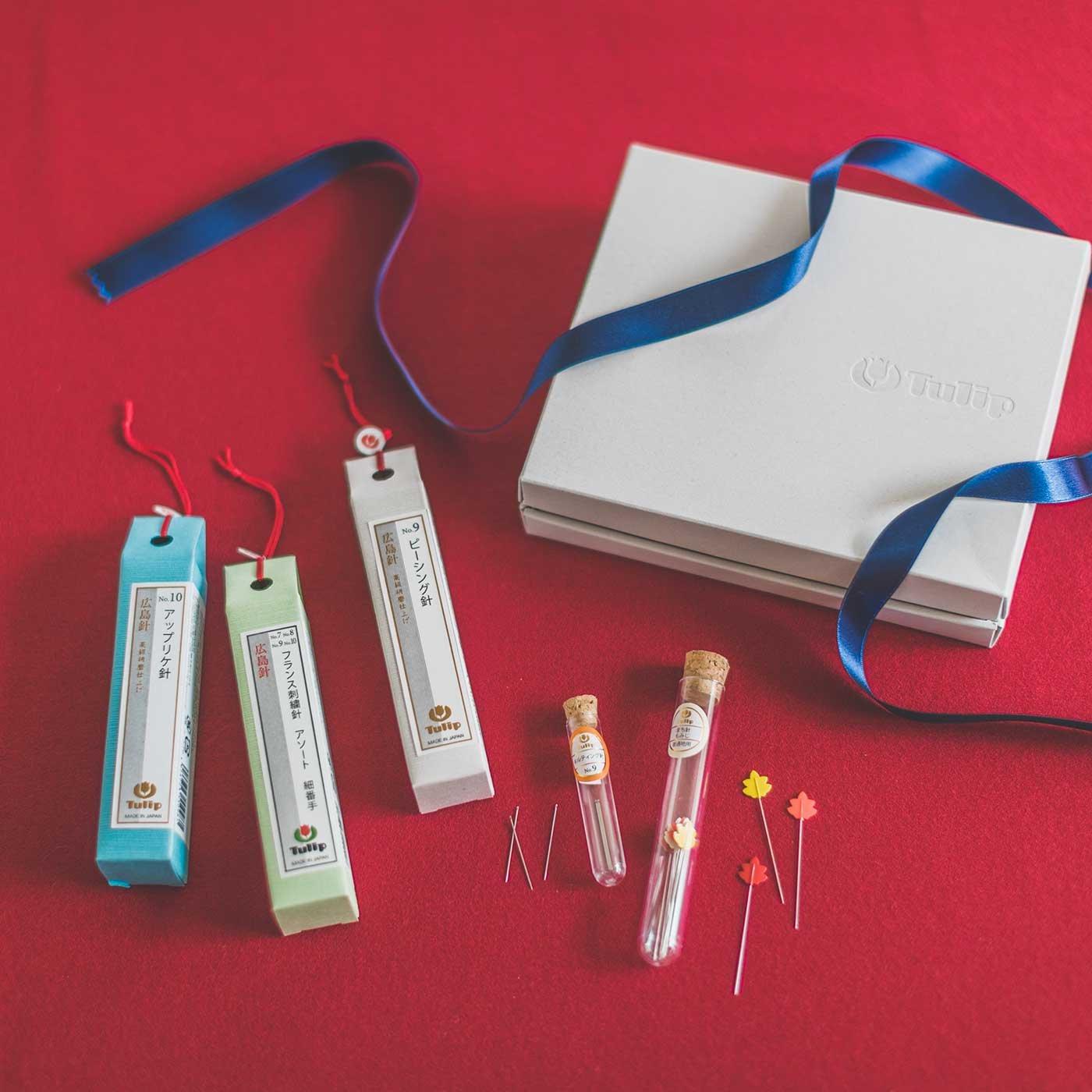 ギフトに最適の箱入り手縫針 針ものがたり 6種セット