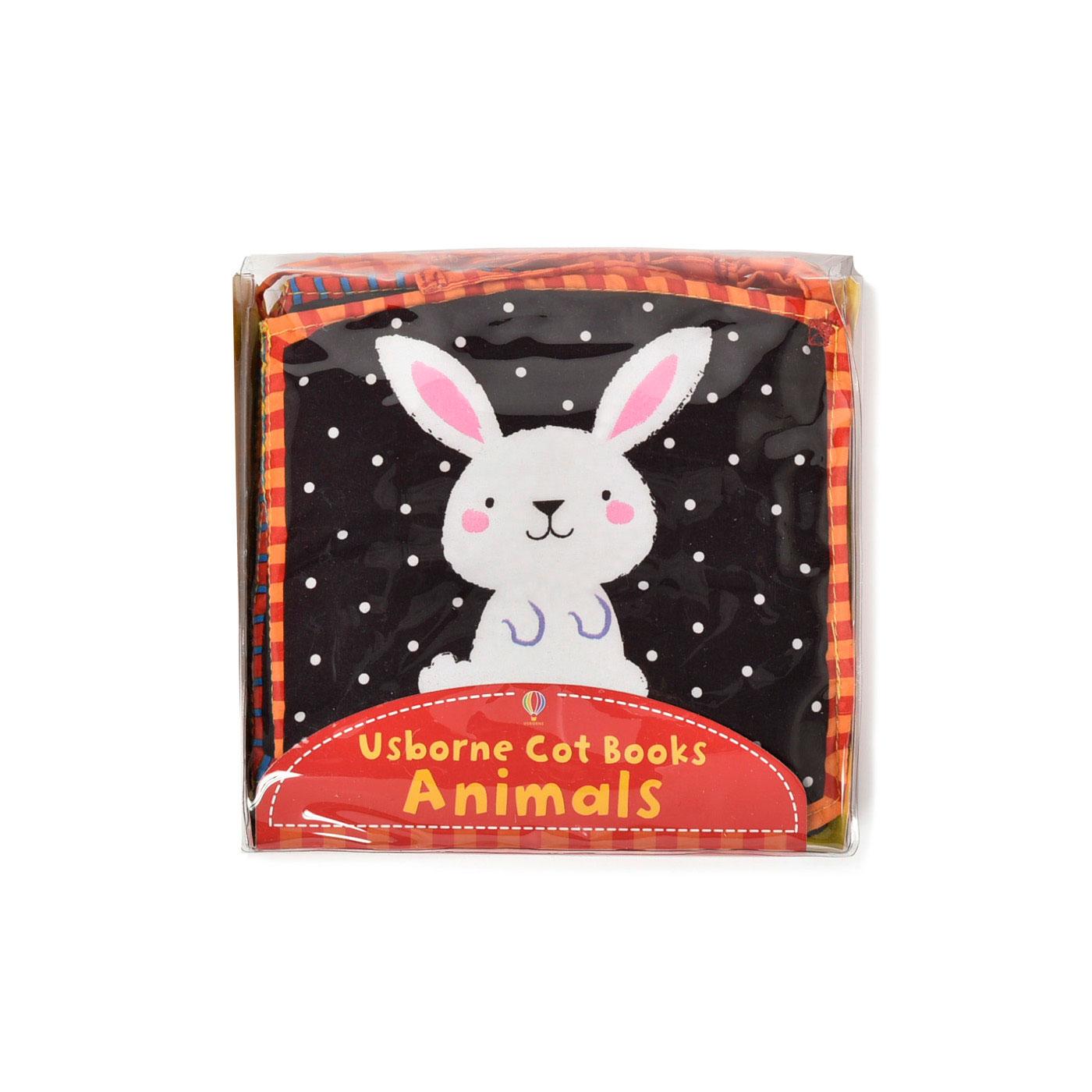 フェリシモ Cot Books 赤ちゃんの布えほん Animals