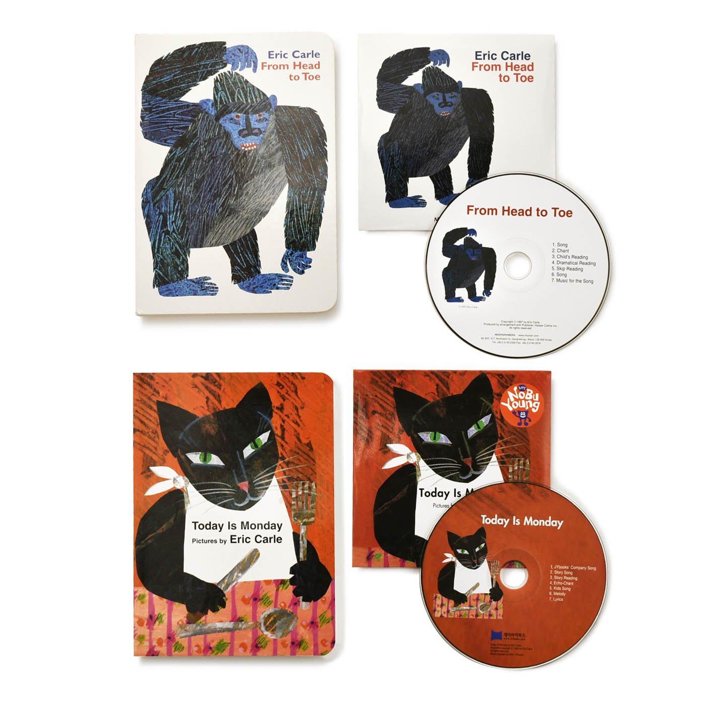 エリック・カール英語CD付きボードブックセット