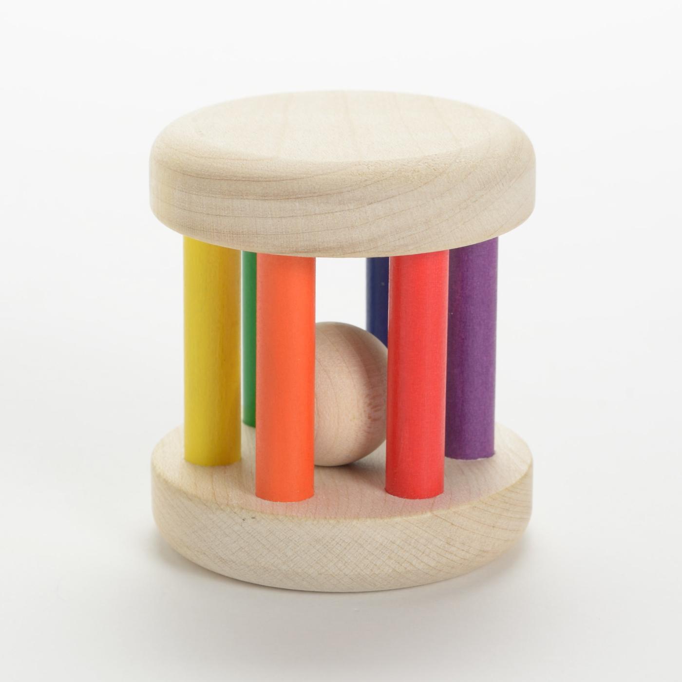 フェリシモ ドイツの木のおもちゃ プラウンハイマー カラーロール