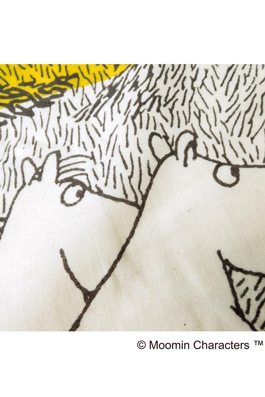 「綿カス」と呼ばれる、綿の葉っぱや茎の破片。漂白していない生成りの生地を使っているためで、ゴミではありませんので、ご安心を。