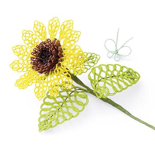 ひと結びずつ可憐に咲く 四季折々 MIZUHIKIアートフラワー