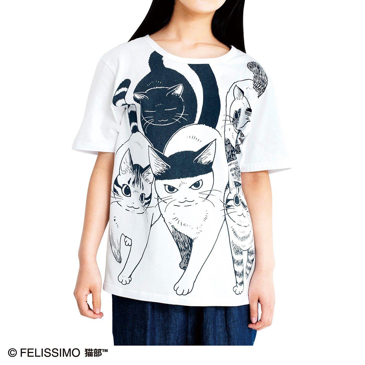 漫画家 山野りんりんさんとつくった ドドンとインパクト 猫好き猛アピールTシャツの会