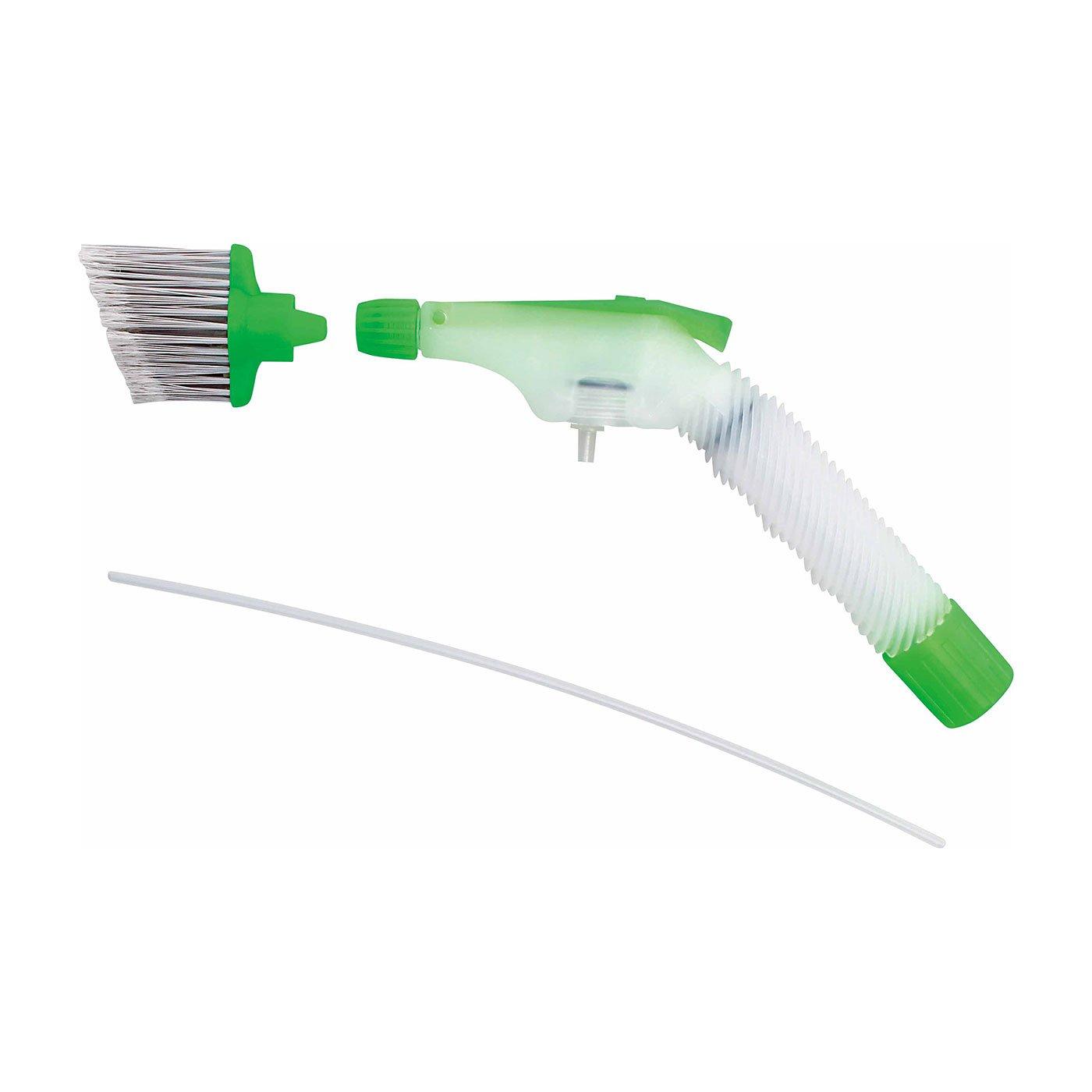 すき間汚れもらくらくお掃除 ペットボトルを水圧洗浄機に変身させるジェットスプレーノズル
