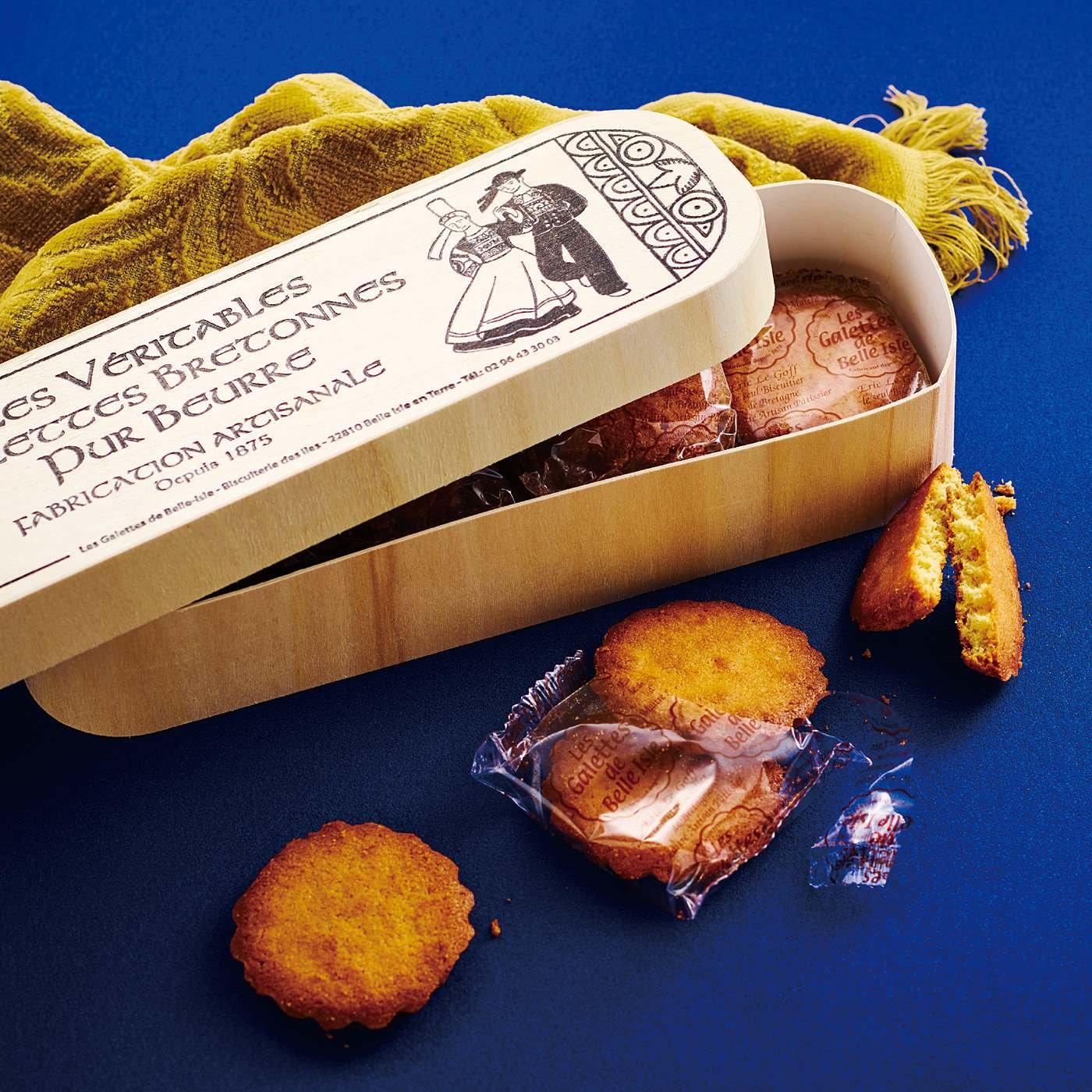 ビスケトリー ダ リル ブルターニュのバターガレット