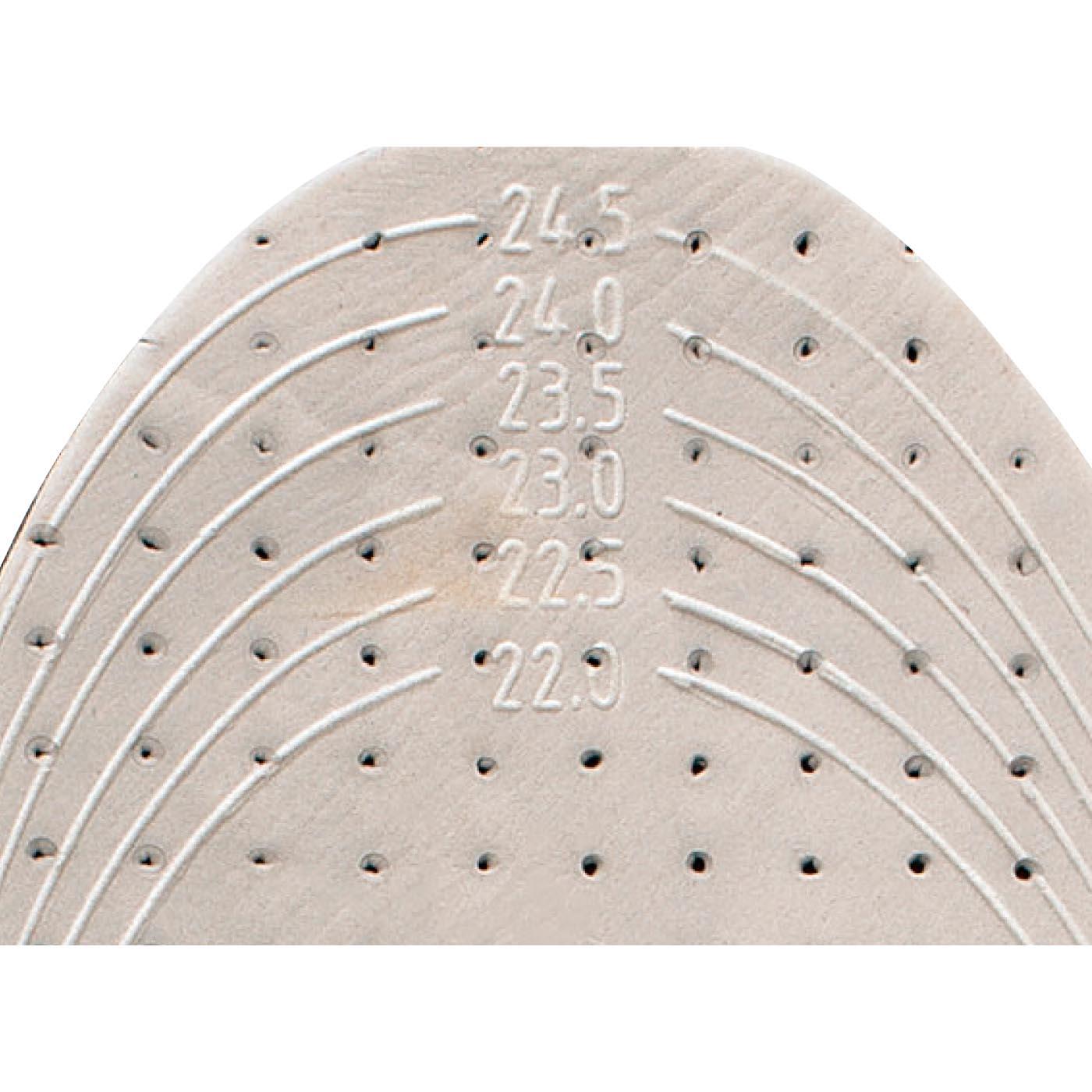 サイズに合わせてカットできる立体カット線付き。