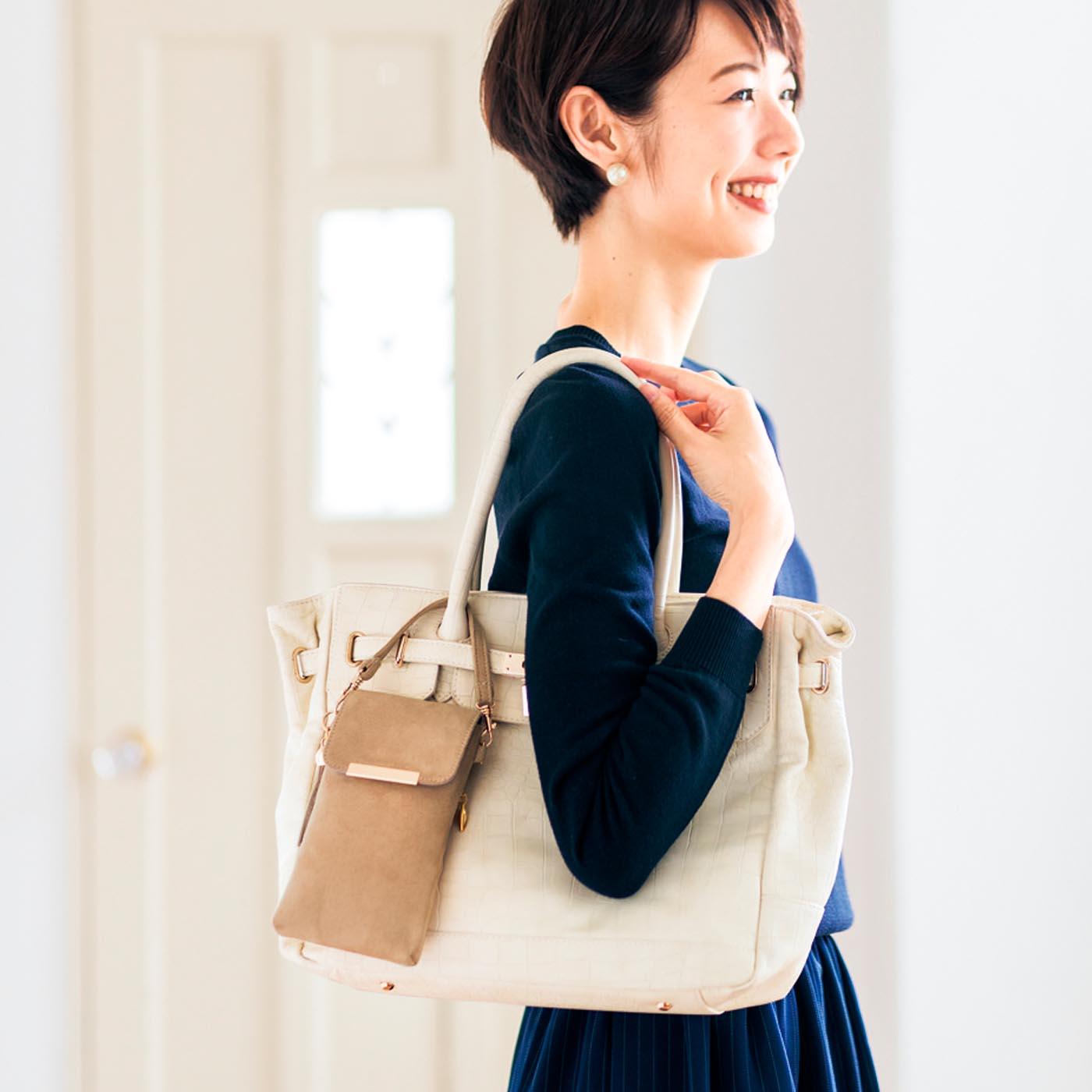 [3-WAY仕様] バッグの持ち手に付けて迷子防止に。