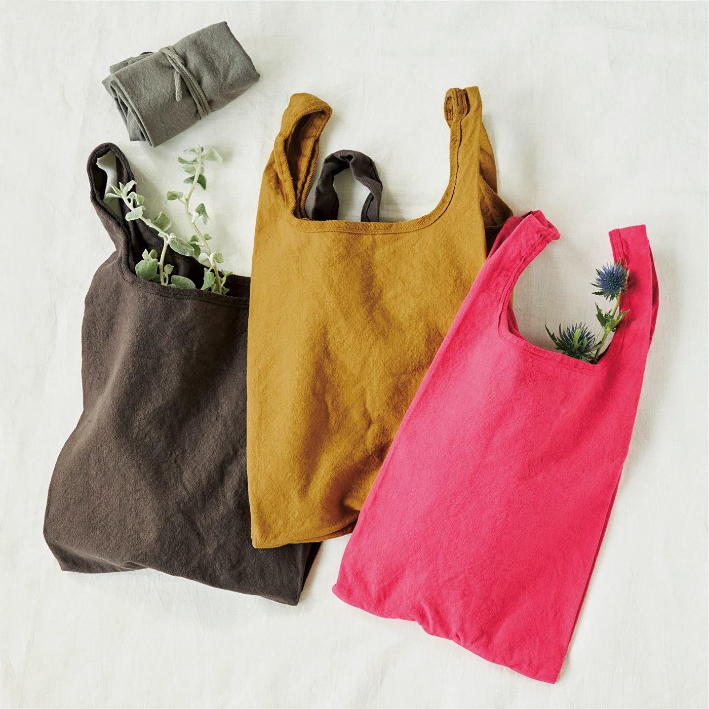 ざっくりな風合がお気に入り 倉敷染め 洗える12オンス帆布のエコバッグの会