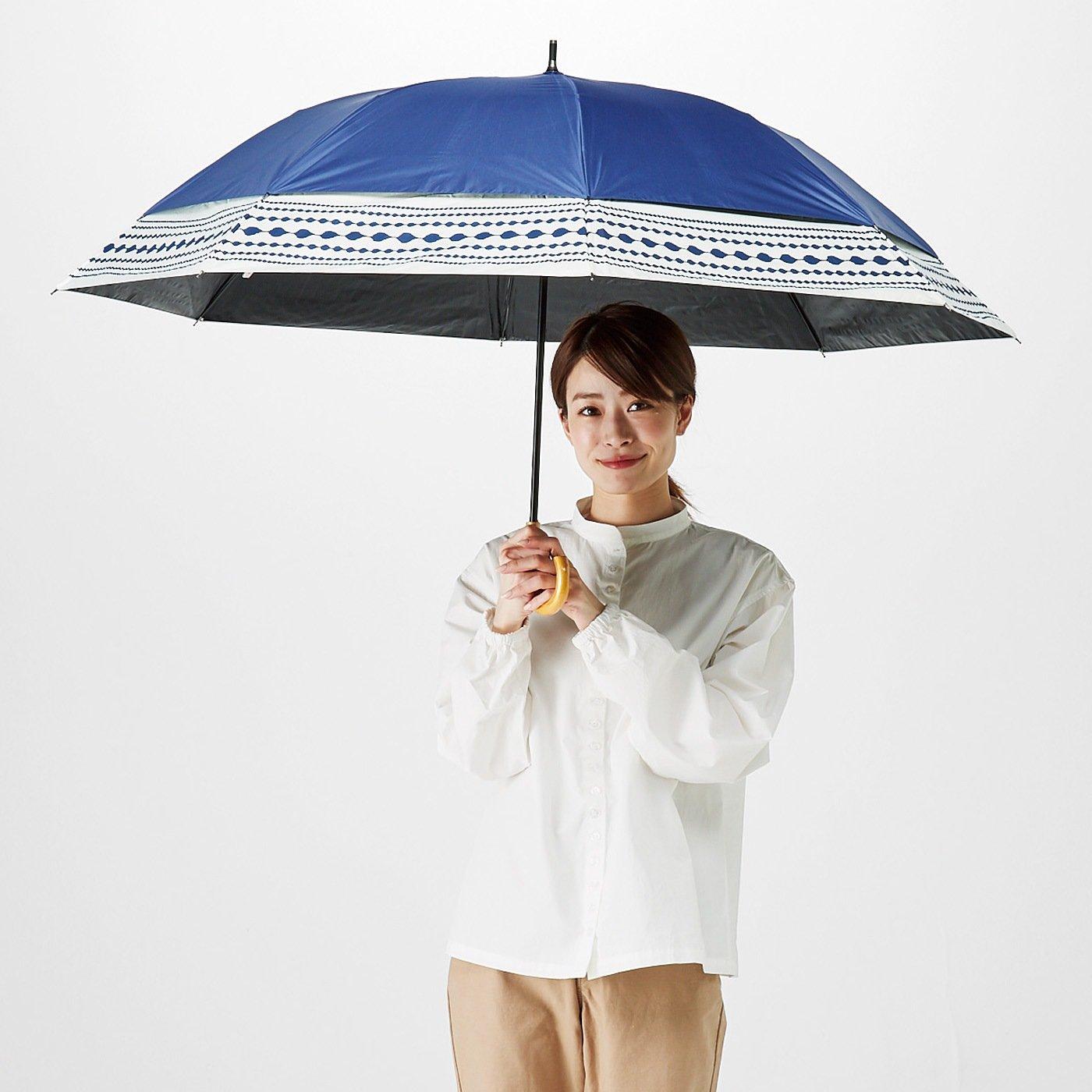開くとニョキッと広がる とにかくジャンボな晴雨兼用傘 のび~る