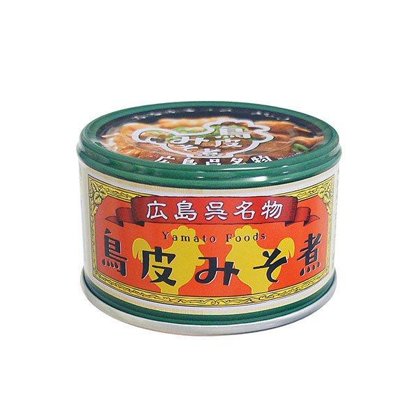 [広島県]【瀬戸内ブランド登録商品】鳥皮みそ煮 130g
